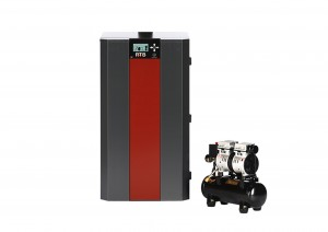 RTB30 boiler with burner