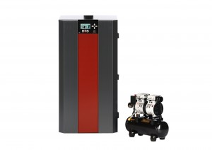 RTB80 boiler with compressor