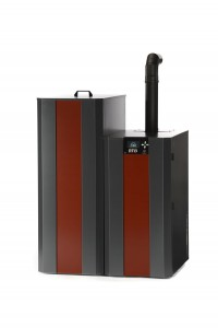 NBE Ready to Burn Boiler with Hopper