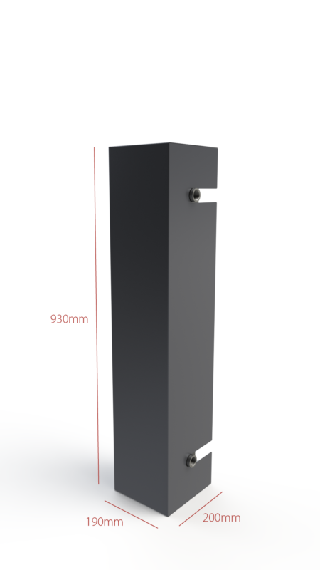 Small insulated flowbox RTB 10-16