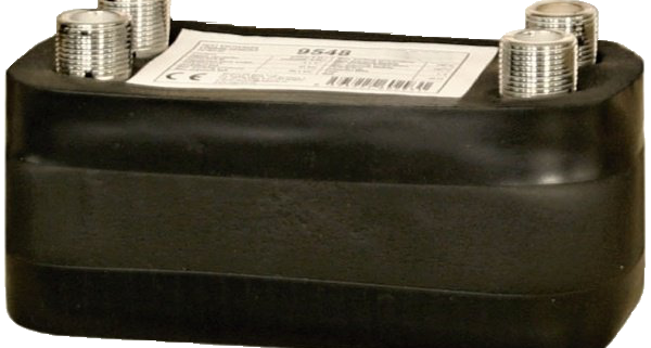 DV193-20E Plate Heat Exchanger, insulated