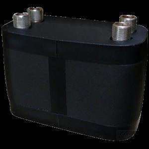 DV193-60E Plate Heat Exchanger, insulated