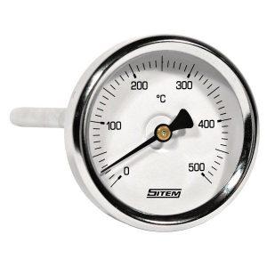 Thermometer stem type