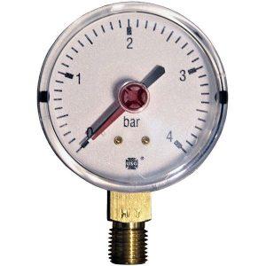 Pressure gauge 4 bar d=63mm