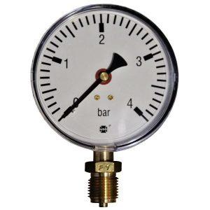 Pressure gauge 4 bar d=100mm