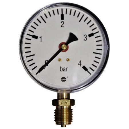 Pressure gauge 4 bar d=100mm