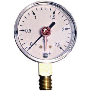 Pressure gauge 2.5 bar