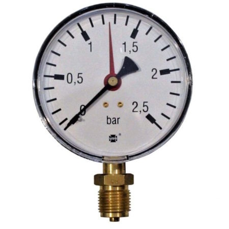 Pressure gauge 2.5 bar d=100mm