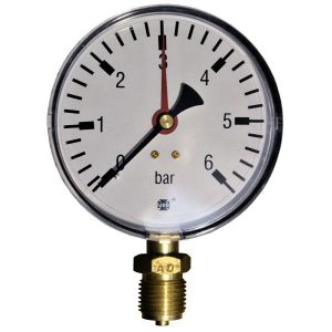 Pressure gauge 6 bar d=100mm