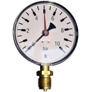 Pressure gauge 10 bar d=100mm