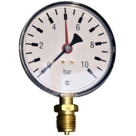 Pressure gauge 10 bar d=100mm