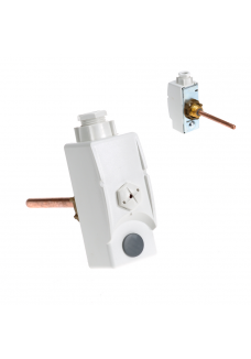 High limit safety thermostat